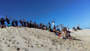eco-education hike kids9